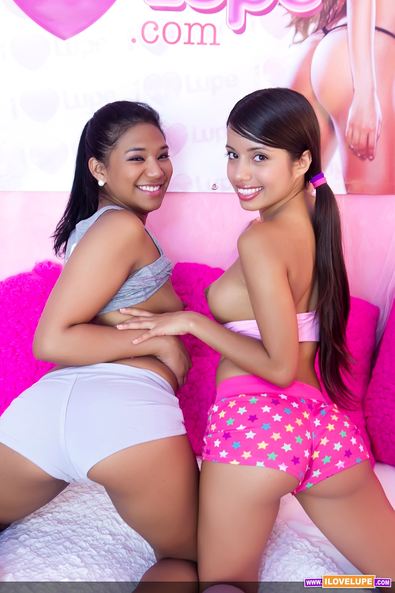 image Little lupe and emy reyes